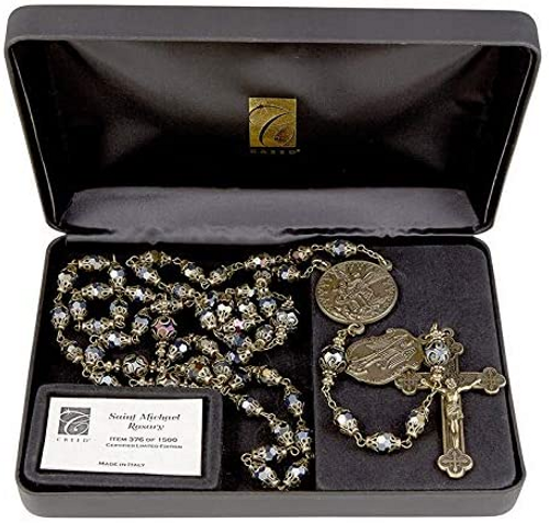 Creed Saint Michael Vintage Rosary-Limited edition