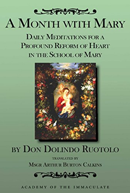 A Month with Mary: Daily Meditations by Don Dolindo Ruotolo