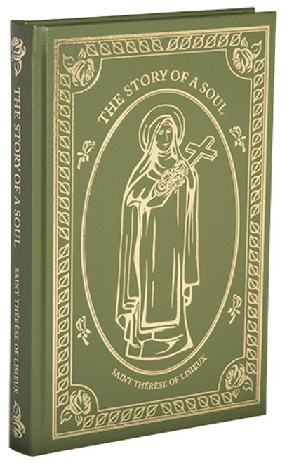 The Story Of A Soul by Saint Therese of Lisieux, Leather Hardback