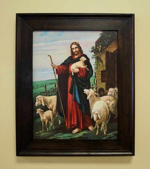 """The Good Shepherd Sacred Print 11"""" x 14"""" or 16""""x 20"""" The Last Supper. The Lamb. The Sacrifice. The Lost Sheep."""