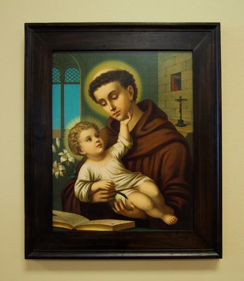 St. Anthony of Padua with Jesus Sacred Print 11 x 14 16 x 20