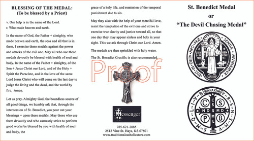 St. Benedict was able to defeat the devil numerous times throughout his life, earning him the title of protector against evil spirits, temptation, and witchcraft. St. Benedict also offers protection against being poisoned, infectious diseases, childbirth complications, and destruction during storms and tempests. He also obtains for sinners the grace of conversion.