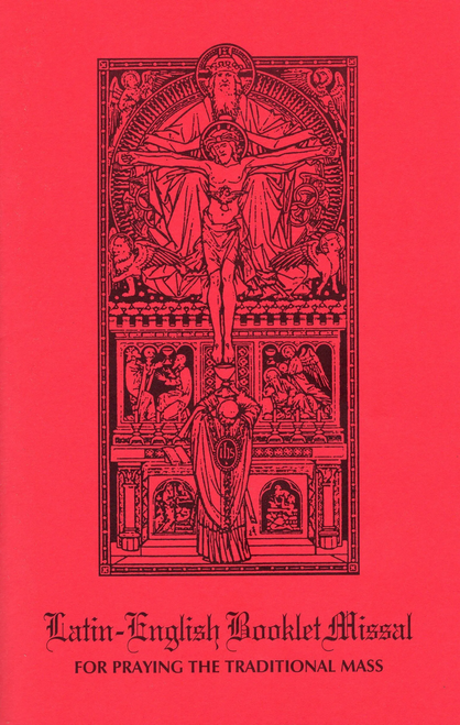 Latin-English Booklet Missal , Coalition Ecclesia Dei, 1962 missal