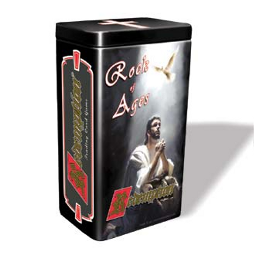 """Redemption ® is a collectible trading card game of biblical adventure. Players use Heroes to rescue Lost Souls, overcoming any Evil Characters that oppose them. This expansion #12 contains 5 booster packs (46 cards) - one pack from the Unlimited, Prophets, Apostles, Patriarchs, and Priests expansion sets; plus 10 """"Rock of Ages"""" cards, a new 90 card set. For ages 7 & up."""