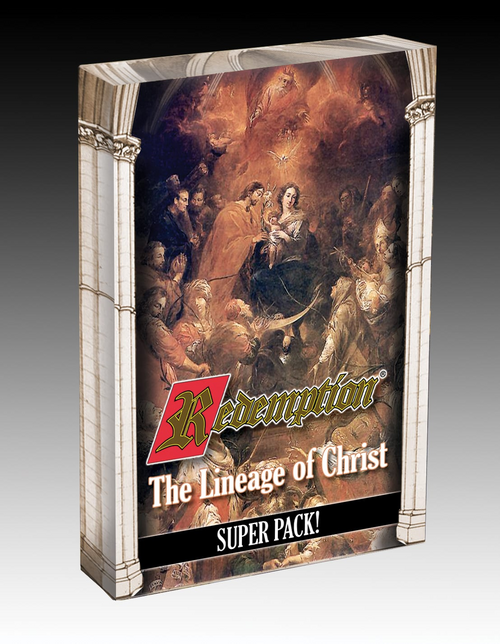 Redemption Card Game Expansion: The Lineage of Christ Super Pack