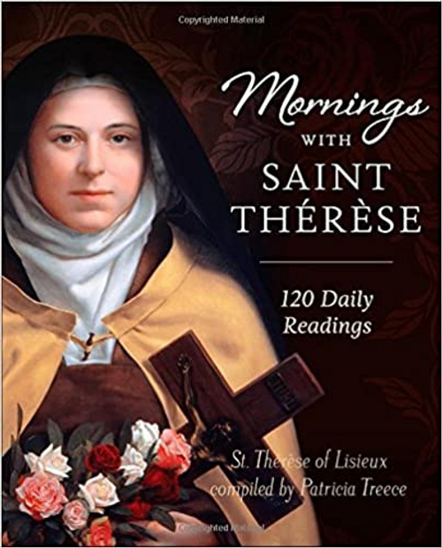 """Spend your mornings with Saint Therese. Patricia Greece has made that possible with a collection of excerpts form Therese's """"little flower"""" writings. Among other themes Saint Therese writes of infinite love and giving with no thought of results. The 120 readings reflect Saint Therese's unwavering passion to serve God in her simple and humble way. Buy two copies; one for yourself and one for someone you love."""