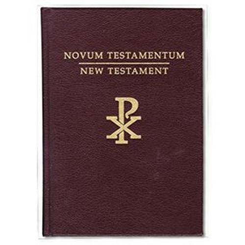 Novum Testamentum/New Testament Douay Rheims Version Latin Bible