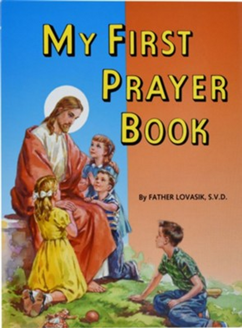 Beautifully illustrated book of simple prayers for children. Author Rev. L. Lovasik, S.V.D and Rev. J. Winkler, OFM Conv.