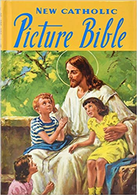 The Catholic Picture Bible by Rev. Lawrence G. Lovasik, S.V.D. is a wonderful and highly-acclaimed collection of Bible stories for children.