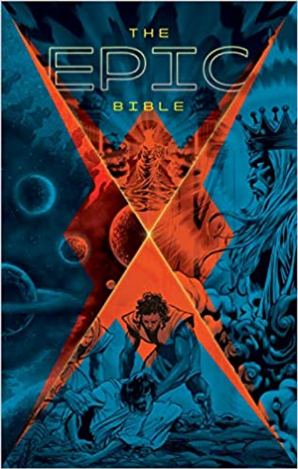 Created by some of DC and Marvel's best comic book artists,The Epic Bibletransports readers through a visual journey of Scripture. From Eden to eternity, this stunning hardcover edition engages even the most reluctant readers with brilliant and dramatic full-color graphic art.