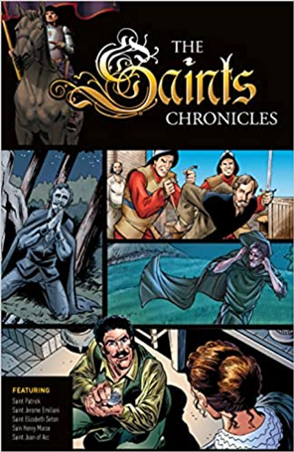The Saints Chroniclesbring vividly to life the stories of courageous Christians from the earliest days of Christianity to modern times. All four volumes of this Graphic Novel Series are packed with engaging texts and dramatic images that captivate and inspire readers of all ages.