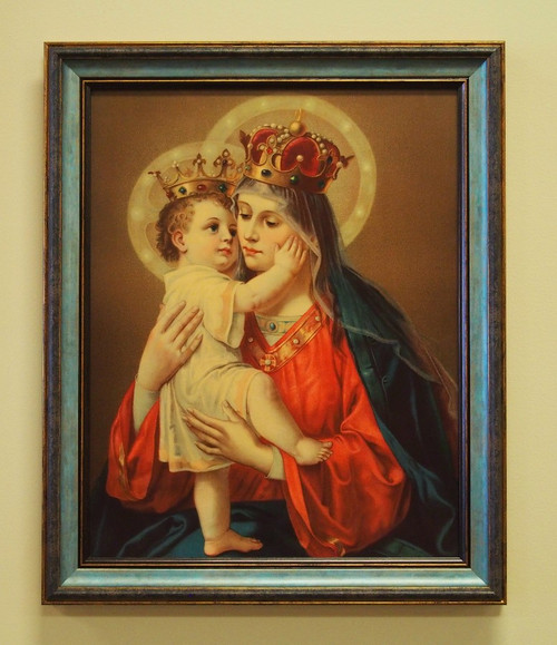 Our Lady of Good Remedy Sacred Print 11x14 16x20 Mary Jesus Child Good Success Good Counsel Marian Apparitions Queen of Heaven and Earth Trinitarian Order