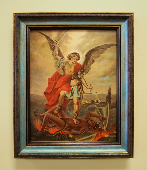 To prepare and fight in the battle for souls, God has called every Christian to pray for the intercession of St. Michael and his nine choirs of angels.satan chaplet