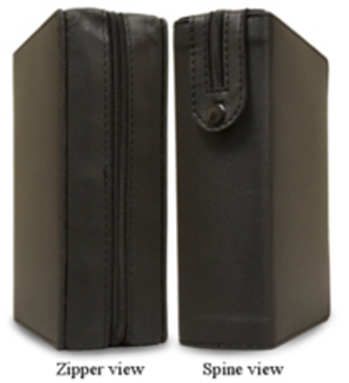 This custom-fitGenuine leathercover is perfect for protecting theDaily Roman Missalin theStandard Print. Both the front and back covers are padded for added protection.  Cover Size: 5 x 7.5