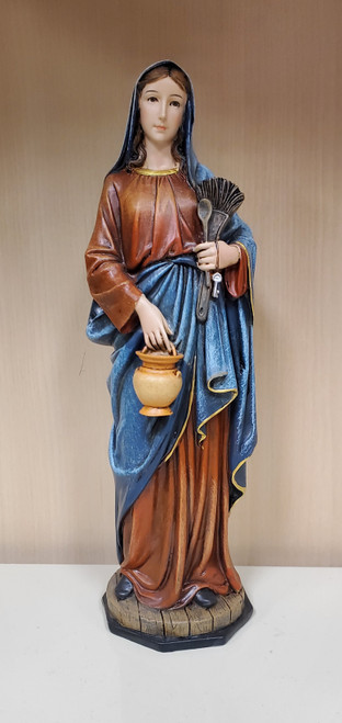 Our lady of the Kitchen, Madonna, Mother, Housewife, Mothers Day, Son, Hard Work, House, Holy Family, Statue