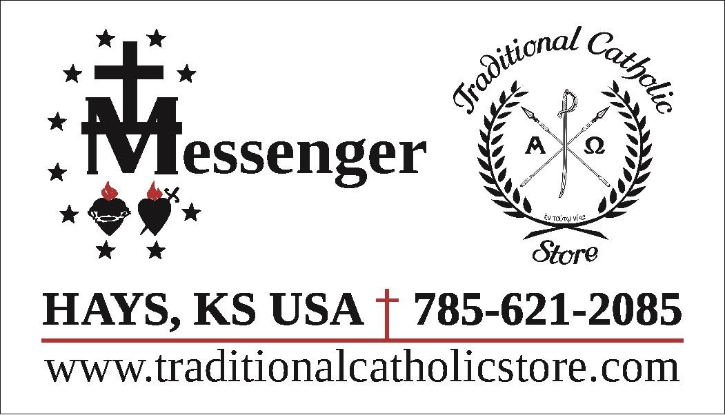 Messenger Catholic Books and Gifts Traditional Catholic Store
