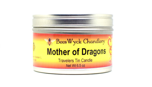 Mother of Dragons Candle Tin 8 oz