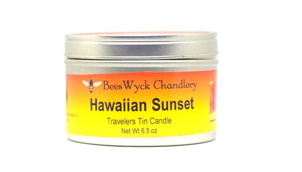 Hawaiian Sunset Candle Tin 8 oz