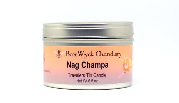 Nag Champa Candle Tin 8 oz