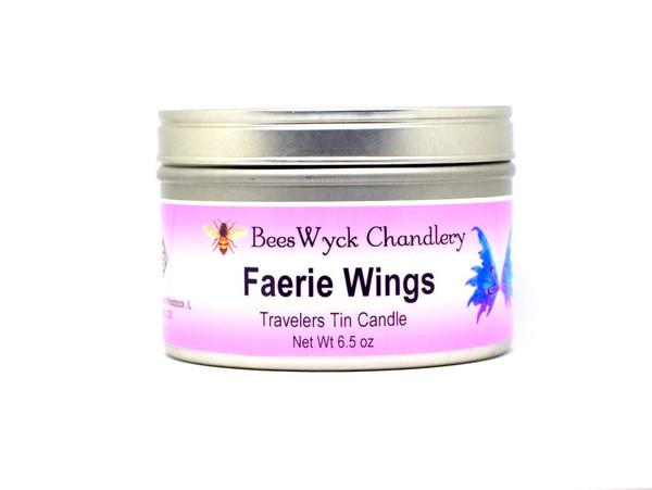 Faery Wings Candle Tin 8 oz