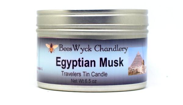 Egyptian Musk Candle Tin 8 oz