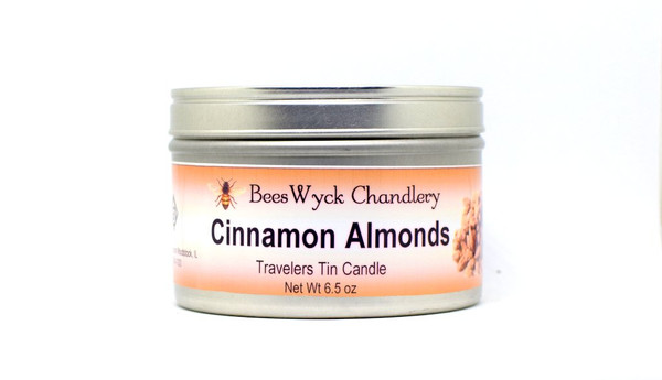 Cinnamon Almonds Candle Tin 8 oz