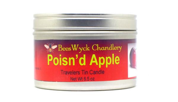 Poisn'd Apple Candle Tin 8 oz
