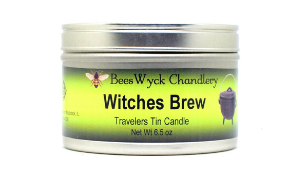 Witches Brew Candle Tin 8 oz