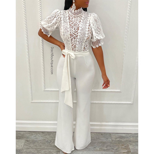 Chic White Jumpsuit