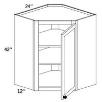 WDC2442 - Wall Diagonal Cabinet - CC9000
