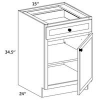 B15 - Base Single Door-WLS6000