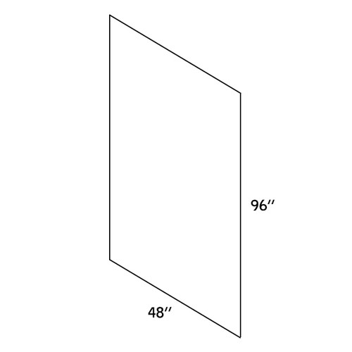 """Plywood Skin Panel 48""""Wx96""""L—PLY4896-2000"""