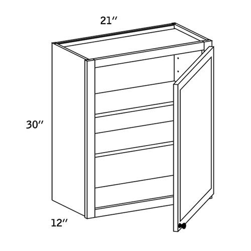 W2130 - Wall Single Door-CC9000