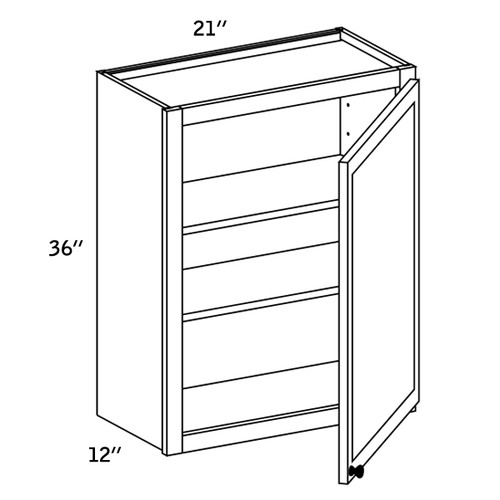 W2136 - Wall Single Door-CC9000