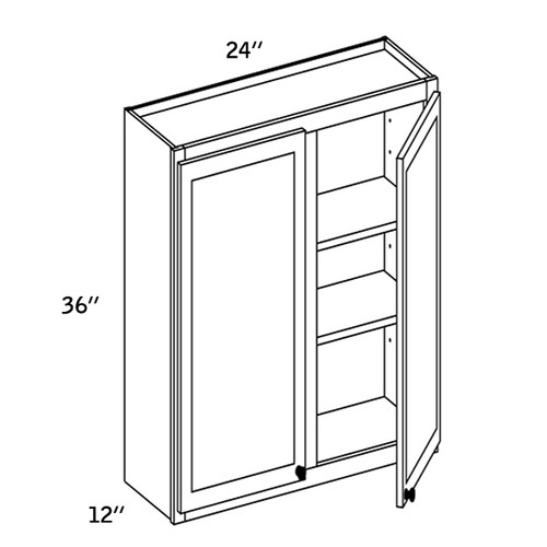 W2436 - Wall Double Door-CC9000