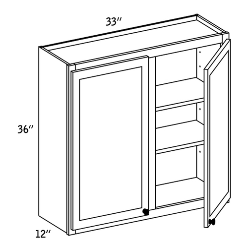 W3336 - Wall Double Door-CC9000