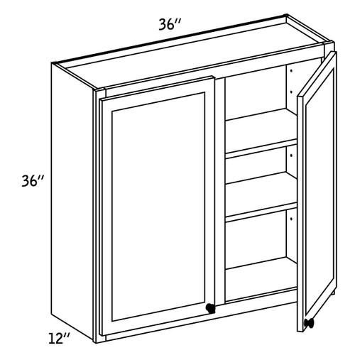 W3636 - Wall Double Door-CC9000