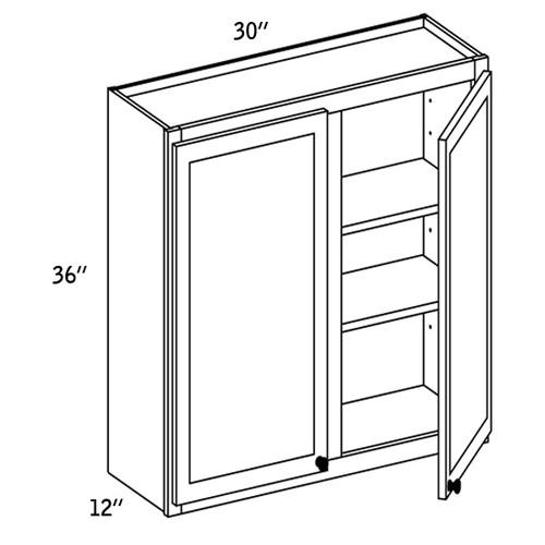W3036G - Wall Glass Door - CC9000