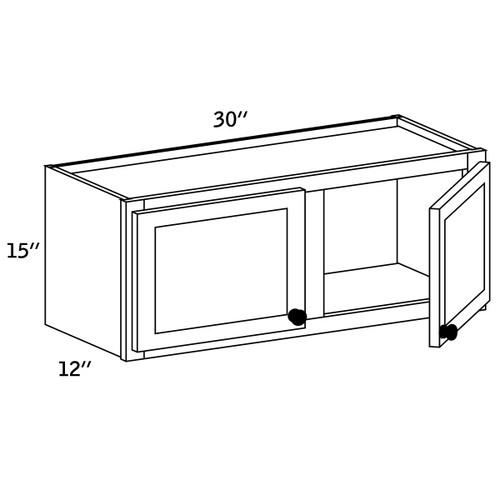 W3015 - Wall Cabinet Double Door - CC9000