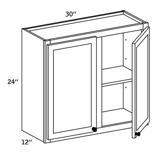 W3024 - Wall Cabinet Double Door - CC9000