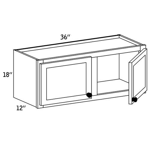 W3618 - Wall Cabinet Double Door - CC9000