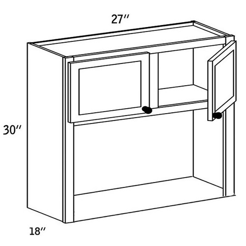 WMC2730 - Wall Microwave Cabinet -CC9000