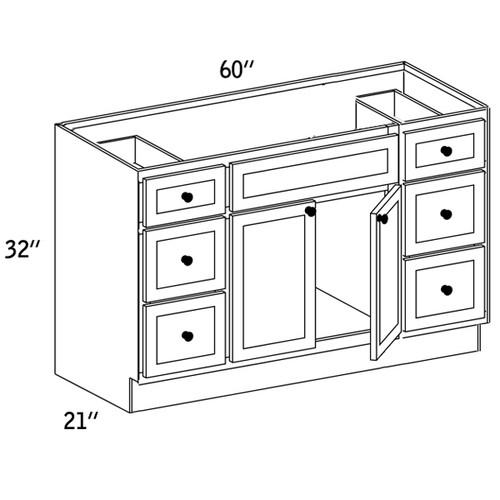 VSD602132 - Vanity Sink Base Drawer - CC9000