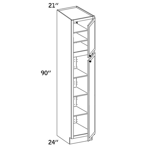 PC2190 - Pantry Cabinet - CC9000