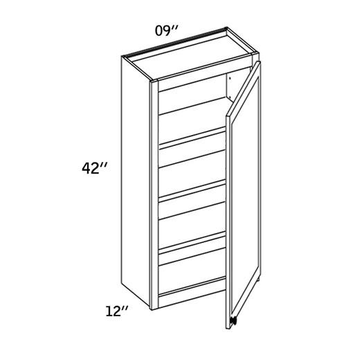 W0942 - Wall Single Door-WBG7000