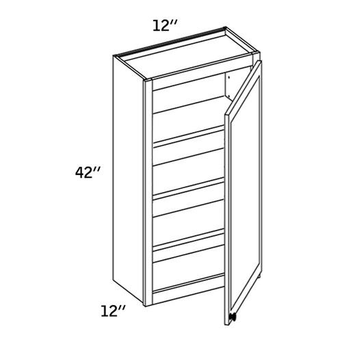 W1242 - Wall Single Door-CMS8000