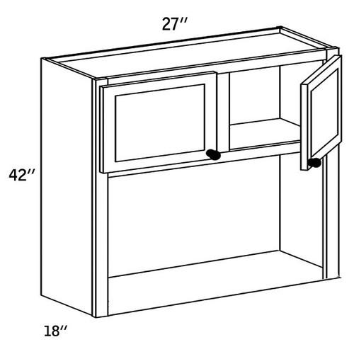 WMC2742 - Wall Microwave Cabinet -CC9000