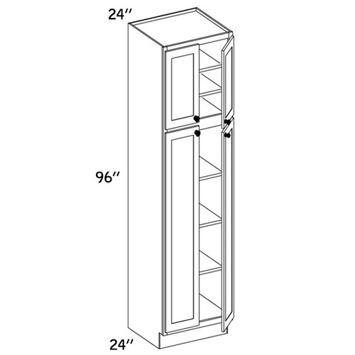 PC2496 - Pantry Cabinet - WBG7000