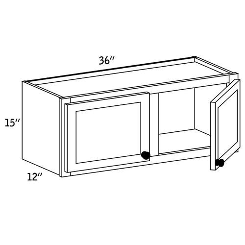 W3615 - Wall Cabinet Double Door - CC9000