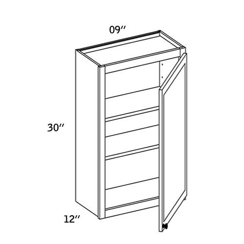 W0930 - Wall Single Door-WBG7000